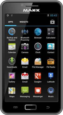 MAXX AX8 Note I (Black, 4 GB)