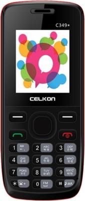Celkon C349(Black & Red) 1