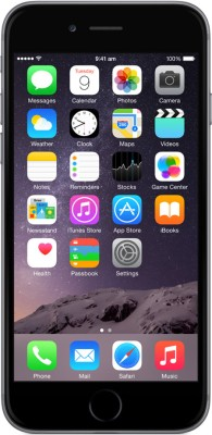 Apple iPhone 6 (Space Grey, 64 GB)