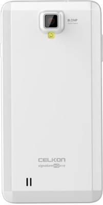 Celkon Signature HD A118 (White, 4 GB)
