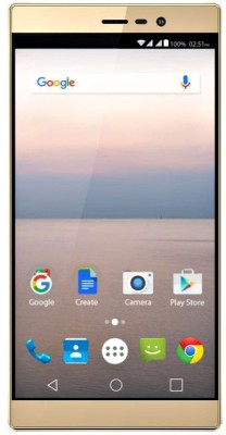 Panasonic P71 (Gold, 16 GB)(2 GB RAM) at flipkart