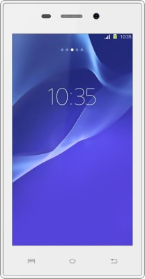 Karbonn A6 Turbo (White, 4 GB)(512 MB RAM)  available at flipkart for Rs.2549