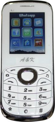 AK Bar Phone A 4(White)
