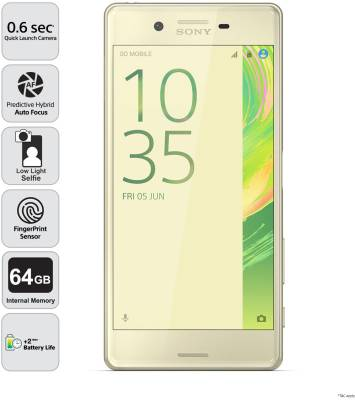 Sony Xperia X Dual Sim (Lime Gold, 64 GB)