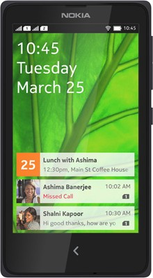 Nokia XPlus (Black, 4 GB)(768 MB RAM)