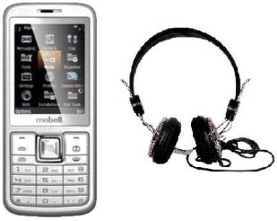 Mobell MOBELL M330 with Envent Headphone (Black)