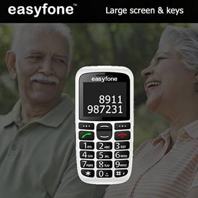 Seniorworld Easyfone (Black)