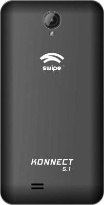 Swipe Konnect 5.1 (Black, 8 GB)