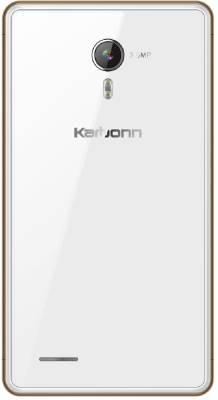 Karbonn A81 (White, Gold, 4 GB)
