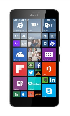 Microsoft Lumia 640 XL (White, 8 GB)(1 GB RAM)