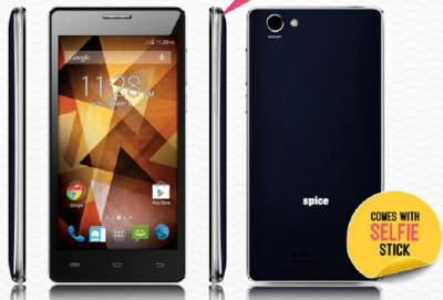 Spice Xlife 511 Pro (Black & Golden, 8 GB)