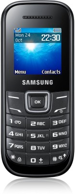 Samsung Guru GT-E1200 128MB Black Mobile