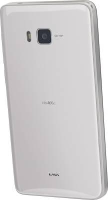 Lava Iris 406Q (White, 4 GB)