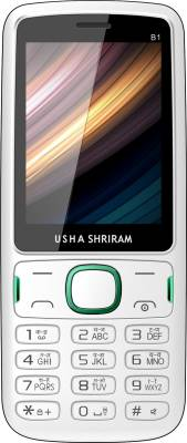 Usha Shriram B1 (White and Green)