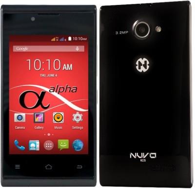 nuvo Alpha NS35 4GB (Black, 4 GB)(512 MB RAM)