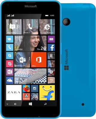 Microsoft Lumia 640 (Cyan, 8 GB)(1 GB RAM)