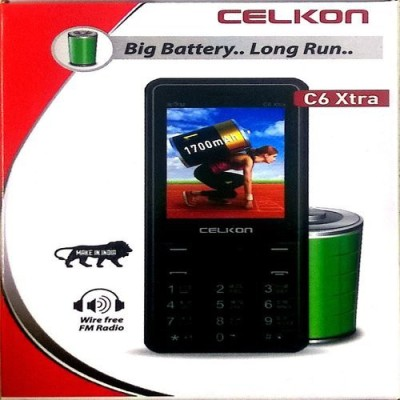 Celkon C6 Xtra Black(Black) 1