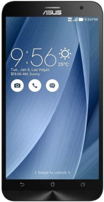 Asus Zenfone 2 ZE551ML (Silver, 128 GB)(4 GB RAM) at flipkart