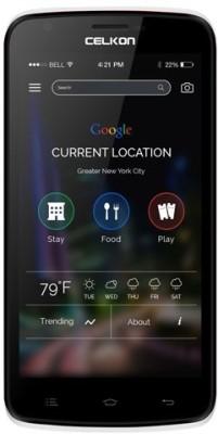 Celkon Q519 Plus (White, 8 GB)(1 GB RAM)