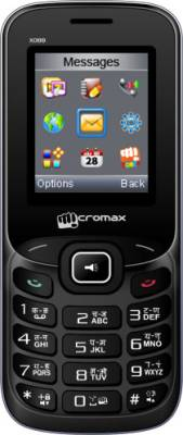 Micromax X088 (Black and Silver) (Flat ₹100 Off)