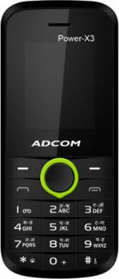 Adcom X3 (Power) Dual Sim Mobile