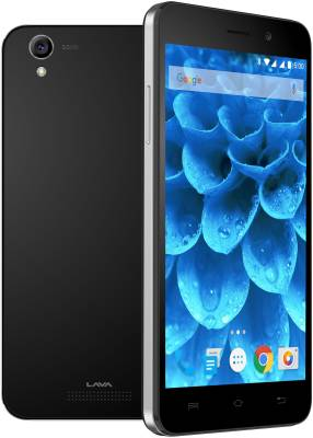 Lava Iris Atom 3 (Black, 8 GB)