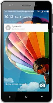Videocon Infinium Z51 Punch (Black+Silver, 8 GB)