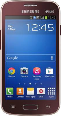 Samsung Galaxy Star Pro (Wine Red, 4 GB)