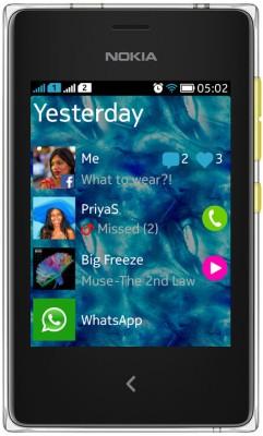 Nokia Asha 502 (Yellow, 64 MB) 1