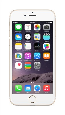 Apple iPhone 6 (Gold, 16 GB) at flipkart