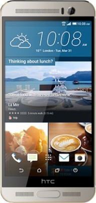 HTC One M9+ (Silver and Gold, 32 GB)(3 GB RAM) at flipkart
