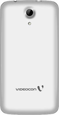 Videocon Infinium Z45 Dazzle (White/Silver, 8 GB)