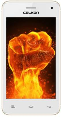 Celkon Millennia Q3K Power White+Gold (White+Gold, 8 GB)