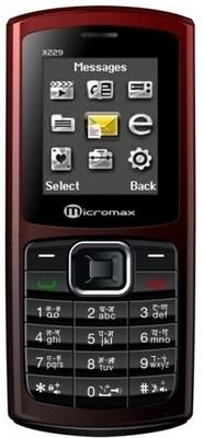 Micromax X229(Red & Coffee) 1