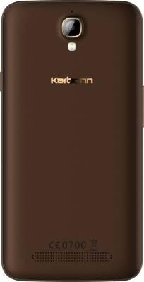 Karbonn Quattro (4G) L50-HD (Coffee, 16 GB)