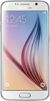 Samsung Galaxy S6 (White Pearl, 64 GB)(3 GB RAM) at flipkart