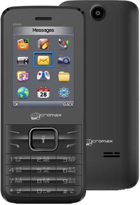 Micromax X2411 Dual Sim(Grey)