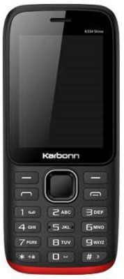 Karbonn K334 Shine(Black/Red) 1