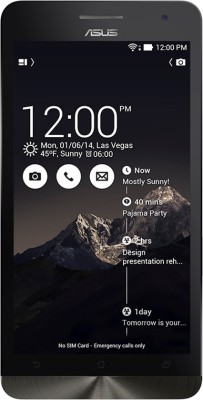 Asus Zenfone 6 (Deep Black, 16 GB)(2 GB RAM) at flipkart