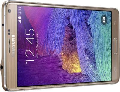 Samsung Galaxy Note 4 (Bronze Gold, 32 GB)