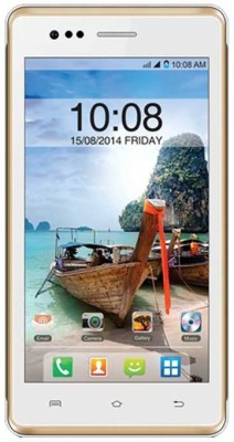 Intex Aqua 4.5E (White and Champange, 1 GB)(512 MB RAM) at flipkart