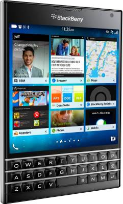 BlackBerry Passport (Black, 32 GB)