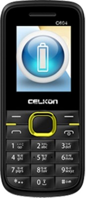 Celkon C604(Black/Yellow Dual Sim)