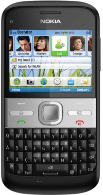 Nokia E5(Carbon Black) at flipkart