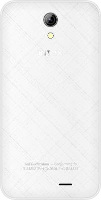 Intex Aqua Y4 (White, 4 GB)