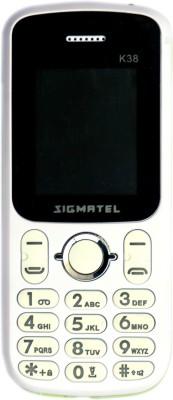 Saral Sigmatel K38(White+Gold)