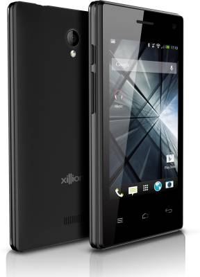 Xillion V200 Dual Core Mobile Phone (Black, 512 MB)