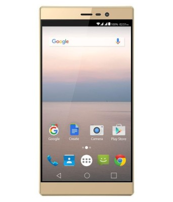 Panasonic Eluga A2 (Metallic Gold, 16 GB)(3 GB RAM) at flipkart
