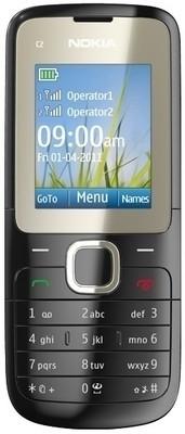 Nokia C2-00(16 MB RAM)