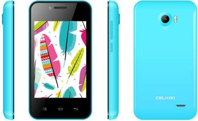 Celkon Campus A355 Light Blue (Light Blue, 512 MB)